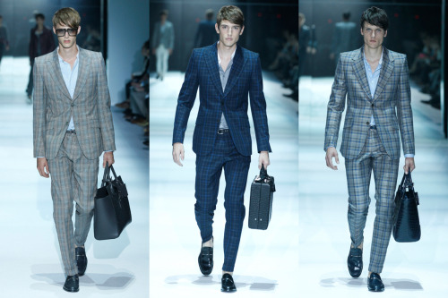 From the Runway: Men's Spring Summer 2012