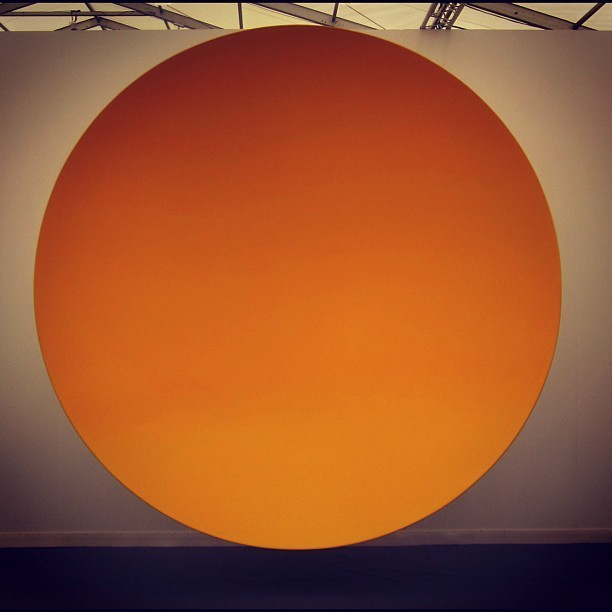 anish kapoor, frieze new york 2012 (Taken with Instagram at FRIEZE New York)