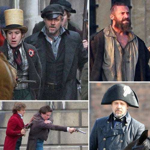 More pictures from the upcoming Les Mis movie.