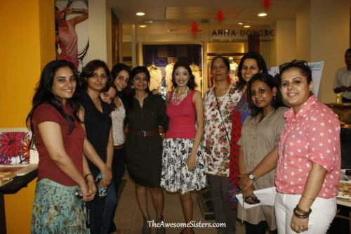BA at the Unveiling of the Aseema Collection with the Global Desi