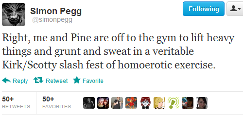 stuckinabucket:  mrsbenevolent:  omfg simon pegg omg  Damn you, Simon Pegg.