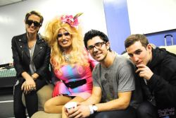 DEV and The Cataracs at Pride Night ;)