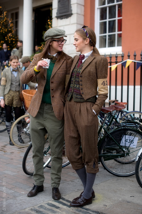 tomboyfemme:  Tweed Run