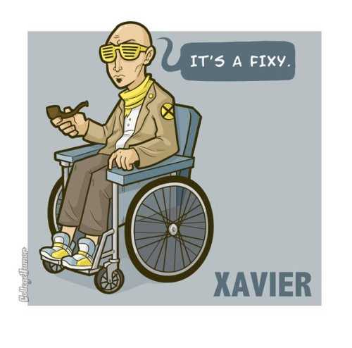 Vault Week: If Superheroes Were Hipsters