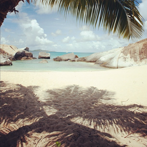 Spring Bay #virgingorda #caribbean #picoftheday #beach #sky #summer