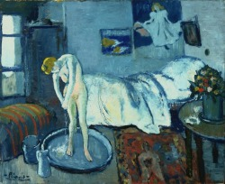 poboh:  The Blue Room, 1901, Pablo Picasso.
