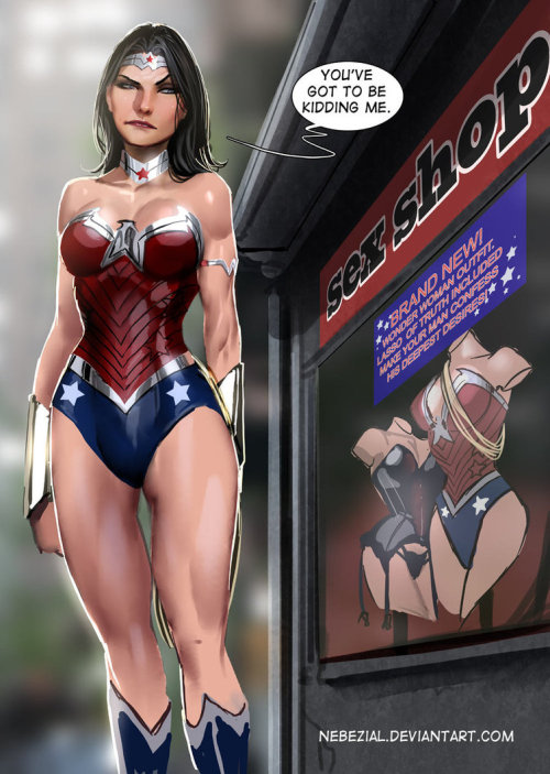 wonder woman..this was inevitableby *nebezial