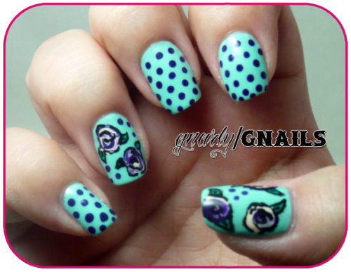 Monkey See Monkey Do Monday! http://gnarlygnails.blogspot.com/