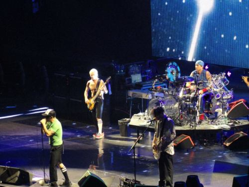 Red Hot Chili Peppers - May 4th - Prudential Center, Newark, NJ