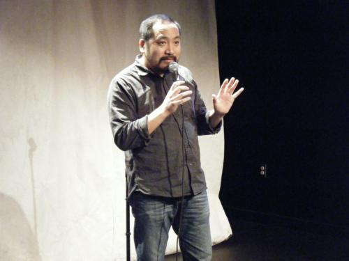Kevin Camia at Bindlestiff Filipino Comedy Festival via Charlie Ballard