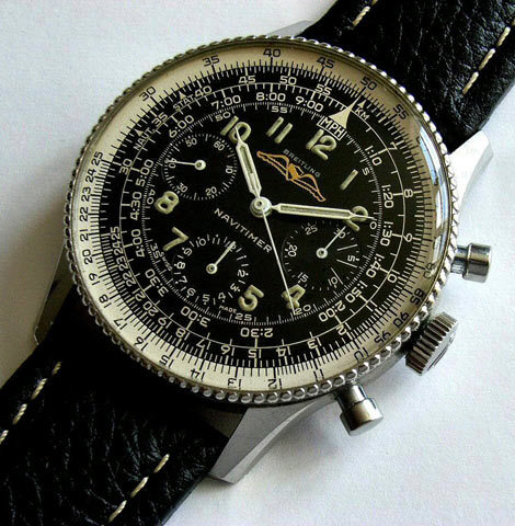 #Breitling #Navitimer Up Close And Personal - #Fly