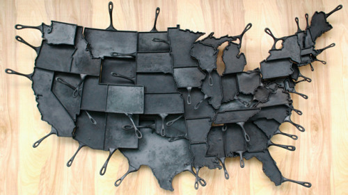 laughingsquid:  Made in America Skillets  @Tayz, made for you.