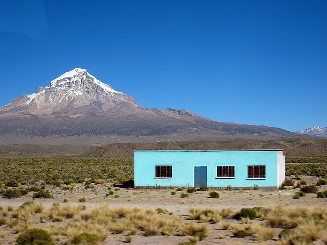 In the middle of nowhere, Chile