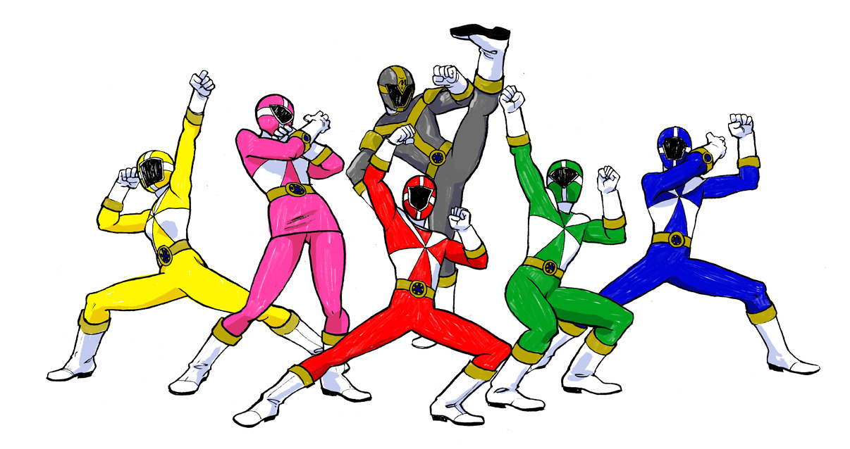 POWER RANGERS LIGHTSPEED RESCUE Five Civilian Heroes step up to become the Lightspeed Rescue Rangers to protect their town, which was built on a demon burial ground. Featuring the Joel, the Green Ranger, who wears a stupid cowboy hat 3 sizes too big for him, and Ryan, the Titanium Ranger. Titanium was one of the only Rangers to be featured in the American adaptation but not the original sentai series. i'll post the ref later, when i find it again