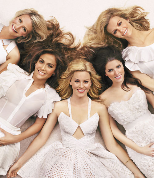 Cameron Diaz, Anna Kendrick, Brooklyn Decker, Elizabeth Banks and Jennifer Lopez