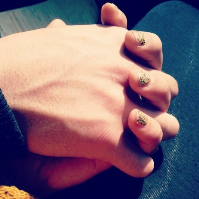 Hands that hold me with a heart that loves me  (Taken with instagram)