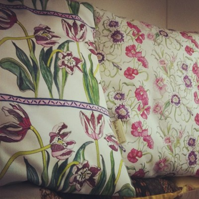 Today's cushions (Taken with instagram)