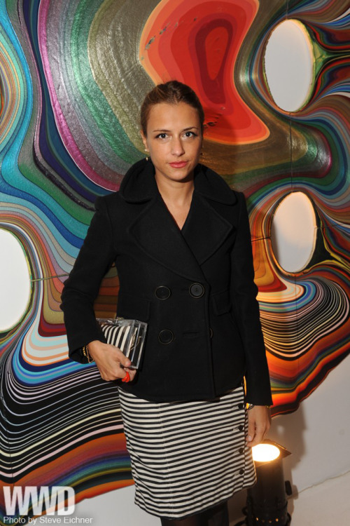 Charlotte Ronson at a dinner  hosted by Dior Beauty in honor of the 50th anniversary of the brand's Vernis nail lacquer