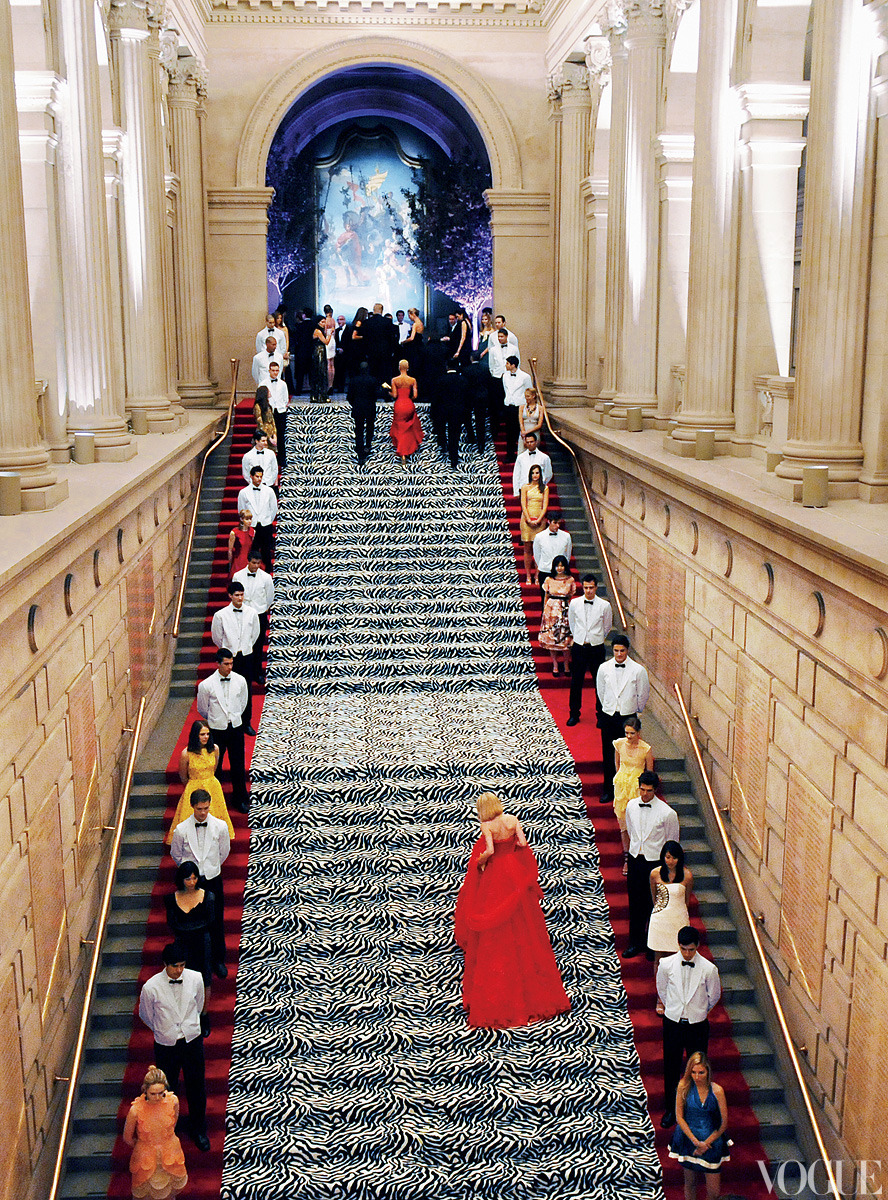 vogue:  NOSTALGIA: Inside the Metropolitan Museum of Art at the 2009 Costume Institute Benefit
