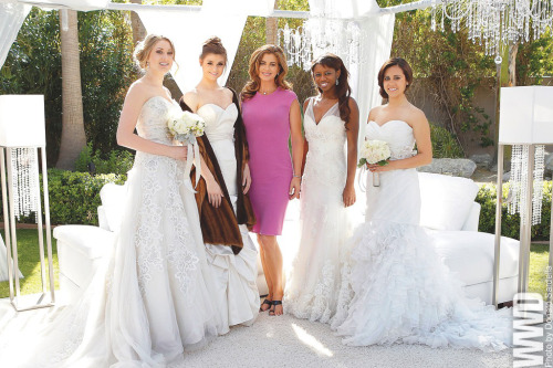womensweardaily:  Kathy Ireland: Model, Mogul, Mom Kathy Ireland bridal gowns, furs, lighting, rug and couch.  … And lover of Jesus