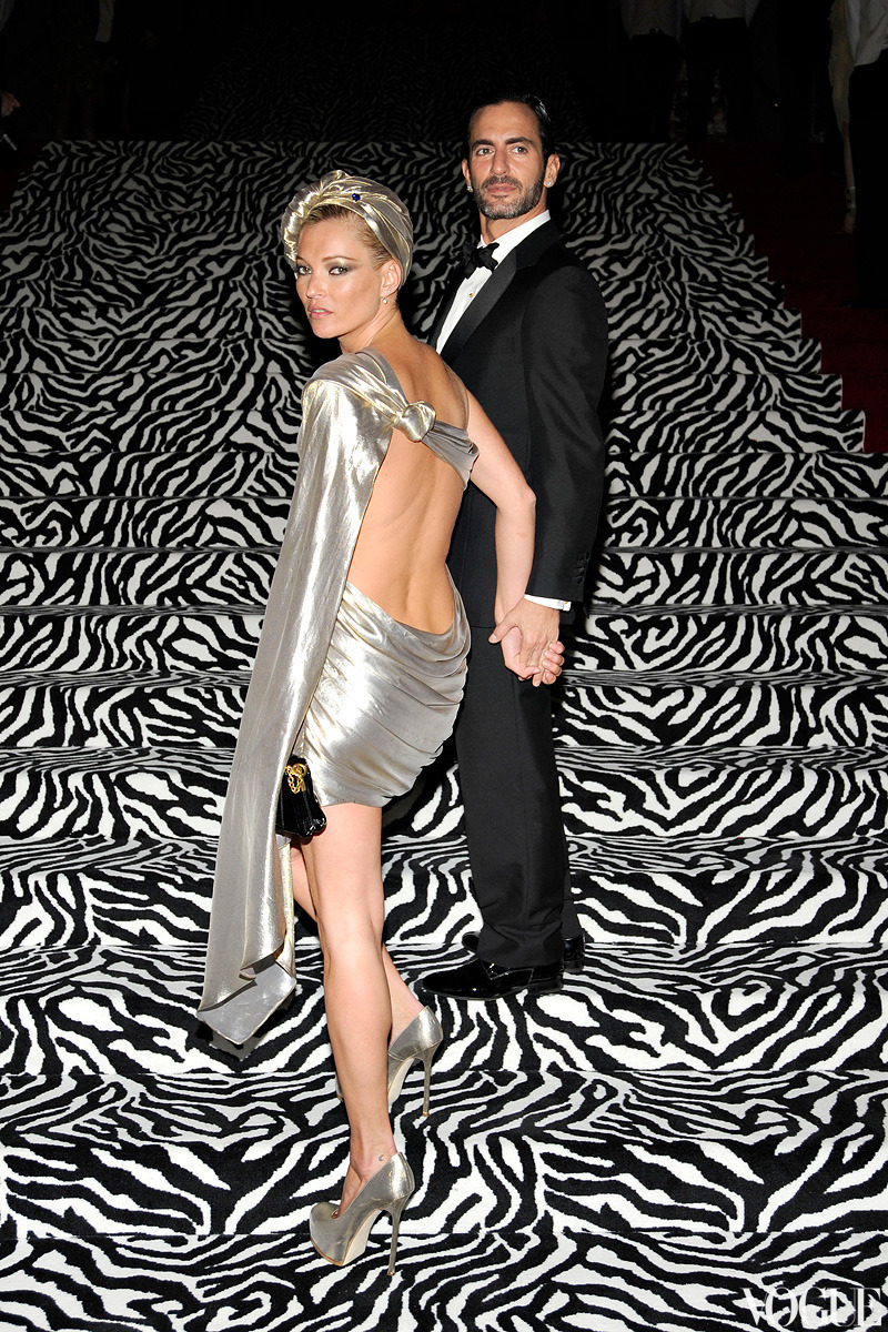 NOSTALGIA: Kate Moss and Marc Jacobs at the 2009 Costume Institute Gala