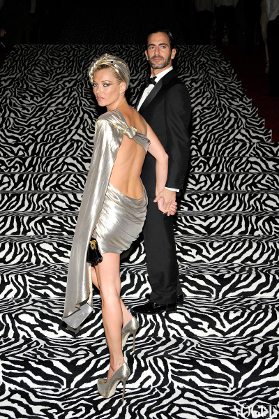 vogue:  NOSTALGIA: Kate Moss and Marc Jacobs at the 2009 Costume Institute Gala  Fab! Kate Moss and Marc Jacobs.