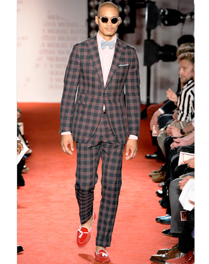 One of the greatest looks from the recent Michael Bastian collection