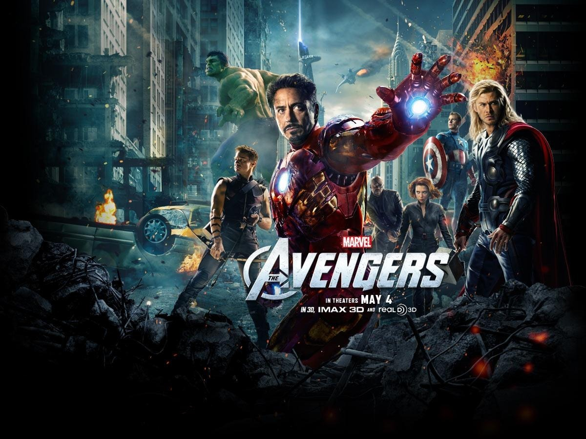 "The Avengers (2012) - Directed by Joss Whedon - Rating: 4/5 The long awaited ""Avengers"" movie has finally been released in the US, and it broke the 200 million dollar mark opening weekend (becoming the first movie to do so). A lot has been said about it already, mostly great things. The Avengers is definitely a good movie, that does what many thought to be impossible, creating a coherent story that involves so many heroes and personalities. Joss Whedon who directed the film, did a great job giving each superhero their own moment to shine during the movie, also managing to sprinkle in some humor. However, with all the great response that the Avengers has gotten, I've noticed somewhat of an overreaction to it as well. I read some comments of people saying the Avengers is the ""greatest superhero movie ever"". Which is odd to say since it may not even be the best Marvel superhero movie ever, the original Spider-Man is still pretty damn good. After seeing all the recent Marvel movies that led up to the Avengers, in terms of quality, they all seem to be around the same. The Avengers suffers from a pretty long run time, and a lot of cliché moments. Without spoiling too much, the Agent Coulson storyline was ridiculous and quite literally manipulative to the Avengers and to the audience. How many times have we seen that happen in a movie before, especially a superhero/action movie? The third act was something right out of a Michael Bay movie, just a ton of inconsequential CGI destruction and explosions to buildings. I never got the sense the stakes meant anything, or that the Avengers were actually fighting in a real environment. Again, I really liked the movie, I'm just nitpicking at the negatives. I give Whedon a lot of credit for creating perhaps the most difficult of the Marvel movie to make with all the different elements. The performances were pretty good as well, Robert Downey Jr. owns Iron Man so well. Tom Hiddleston as Loki was great, definitely one of the better villains from the Marvel universe. I would highly recommend this movie, if you're one of the few who hasn't seen it by this point. //post by scott Tweet"