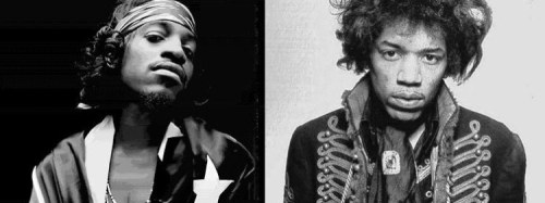 Andre 3000 To Play Jimi Hendrix In Biopic! A fitting way to cast the role, though Jimi's voice is distinctly different than Andre's, but I think he will do a great job. Can't wait to see it. 3 Stacks!