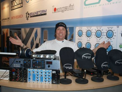 Mojave Audio at Musikmesse 2012.