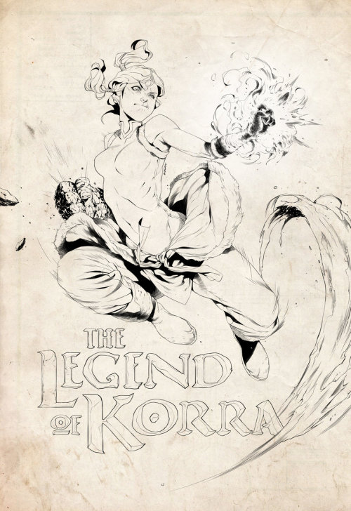 riceatingpanda:  Legend of Korra by ~2ngaw