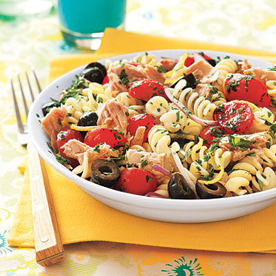 in-my-mouth:  Tuna Pasta Salad