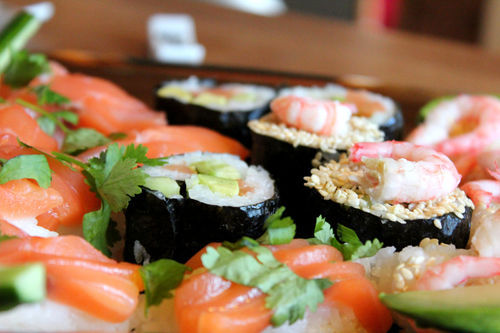 in-my-mouth:  Sushi