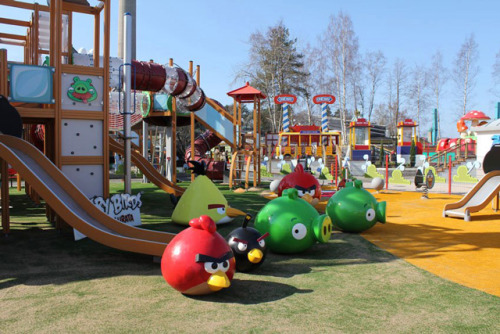 laughingsquid:  Angry Birds Land Opens in Finnish Theme Park