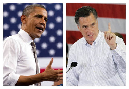 occupyallstreets:  Poll: Obama And Romney Are Neck And Neck Six Months Ahead Of Election With six months until Election Day, the race between President Obama and Mitt Romney has tightened into a statistical dead heat. Two new polls find that while the candidates are tied for overall support, Obama remains the more well-liked candidate and Romney is considered the more apt at handling the economy. Romney edged Obama, 48% to 47%, in the Politico-George Washington University Battleground Poll, a nationwide survey of 1,000 voters conducted last week by the Republican firm the Tarrance Group and the Democratic firm Lake Research Partners. Obama bested Romney, 47% to 45%, in a USA Today/Gallup Swing States Poll, which surveyed 951 registered voters in 12 swing states during the same time period. In each case, the results were within the margin of error, meaning the candidates are statistically tied. Politico's February poll had Obama leading Romney by 9 percentage points. The Swing State survey had Obama with a 9-percentage-point lead in late March. Meanwhile, Gallup's five-day average, which showed Obama with a slight 46% to 45% lead last week, has flipped in favor of Romney. Yet while 70% said they approve of Obama as a person – 56% said the same of Romney – just 48% said they approve of the job he's doing as president. Twenty-four percent said they like Obama personally but disapprove of the job he's doing, and 68% of them said they would vote to replace him. Read More