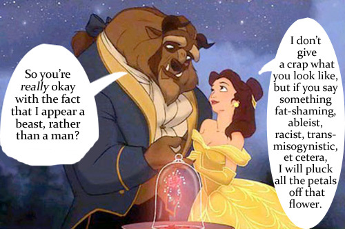 They could say what they liked about her, but Belle had standards.