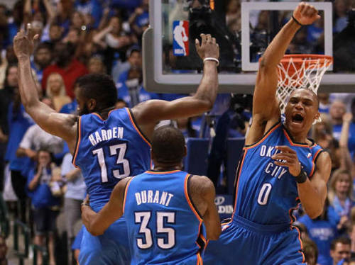 The Oklahoma City Thunder remain unstoppable!