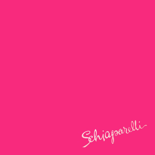 toryburch:  S is for Schiaparelli Pink An ode to the designer's signature color, and the color of choice at the 2012 Met Ball