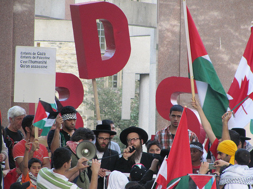 "OpinionNation: A Forum on Boycott, Divestment, Sanctions (BDS) On the pro-BDS side, 'Equality or Nothing!'   Anyone who supports Palestinian self-determination while calling only for ending the forty-five-year-old Israeli occupation of the Gaza Strip and the West Bank, including East Jerusalem, is only upholding most of the rights of just 38 percent of Palestinians while expecting the rest to accept injustice as fate. By appealing to people of conscience around the world to help end Israel's three-tiered system of oppression, the BDS movement is not asking for anything heroic. It is merely asking people to desist from complicity in oppression.  Against, ""BDS Abandons Israeli Progressives""  Israel…is a complicated place. Its democracy is certainly more than what produced the occupation of Palestine. Imagine European officials, intellectuals etc., reading grim headlines about America's invasion of Iraq, and concluding that the war was the product (as it was to some degree) of America's imperial political structure and peculiar concepts of liberty. Imagine their advocating a boycott of everything American, from Google, to The Nation…in effect, an end to the United States as we know it…Would this have been thought sane?  Read the entire debate and weigh in here."