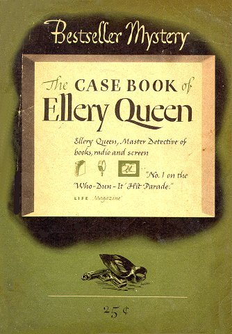 Very rare: THE CASEBOOK OF ELLERY QUEEN (1945). Would love to read this…