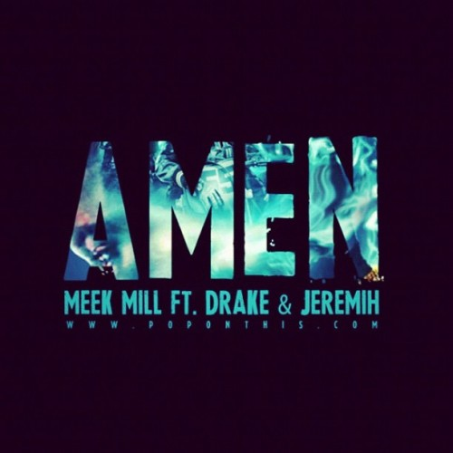 This song so hard. #meekmill #drake #jeremih #amen (Taken with instagram)