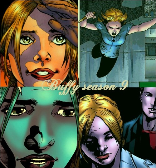 Favorites Buffy panels (season 9).