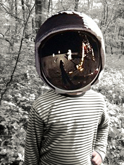 Marko Köppe: Space Kid Collage I / Fear Collage