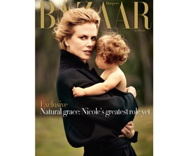 Nicole Kidman for Bazaar Australia, June/July '12 This is the first time the Australian press has been covered on The Babble, but hey- why the devil not? Especially when the photograph in question is so stunning too! To be succinct, Nicole has grasped the role of a lifetime in Grace Kelly. Personally she wouldn't have been my first choice (cough, Scar Jo, cough) but there's no doubting her acting ability, and her obvious good looks. Perhaps she'll be a killer Ms Monaco after all?