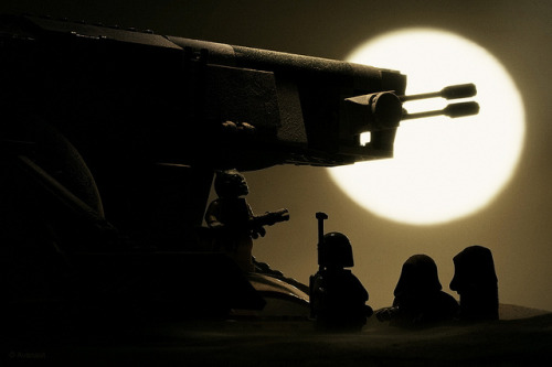 Mr. Fett Goes Shopping by Avanaut on Flickr.Loving these Atmospheric Lego photos. So many cool pics.