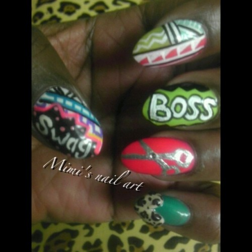 #PhotoShake #tribalnailart #tribal #nailartoohlala #naildesigns #nailart #nailartclub #nailartswag #nailartaddicts #heart #3d #3dnails #cheetahprint #sheer #boss #swag  (Taken with instagram)