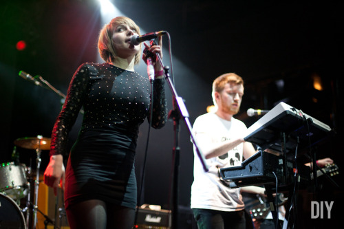 Camden Crawl 2012: Rolo Tomassi, by Emma Swann (via DIY)