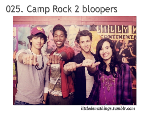 video HERE 025. Nieudane sceny z Camp Rock 2