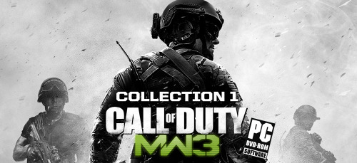 FIRST CONTENT COLLECTION FOR MW3 OUT TOMORROW FOR PC USERS. As confirmed by the official Call of Duty account on Twitter. It'll be $14.99 and can be purchased via Steam. The first content collection includes Liberation, Piazza, Overwatch, Black Box, Black Ice & Negotiator. - Tyson | R|R