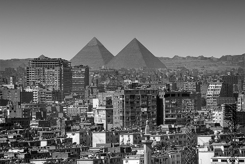 the actual shot travelingcolors:  Twin Peaks, Cairo | Egypt (by **Anik Messier**)